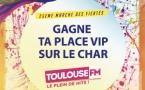 Un char Toulouse FM à la Marche des Fiertés