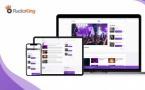 RadioKing : une nouvelle version de son éditeur de Site Radio
