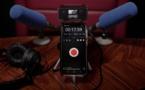 Couplé au smartphone, le SX-M2D2 devient un codec complet, permettant de transmettre un flux audio sur IP.