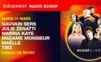 Radio Scoop invite ses auditeurs au Casino de Royat