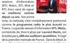 Laurent Bazin est n° 1