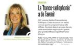 """La """"franco-radiophonie"""" a de l'avenir"""