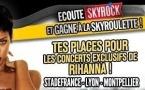 Skyrock avec Rihanna