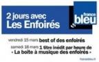 Les Enfoirés sur France Bleu