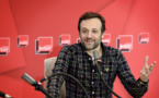 François-Régis Gaudry présente On va déguster sur France Inter. © Christophe Abramowitz - Radio France.