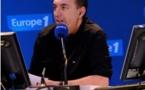 Morandini sur le plateau de The Voice