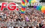 FG à la Gay Pride de Tel Haviv