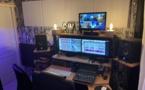 Le studio de Hello Radio, situé à Marseille. © Thibault Léonard.