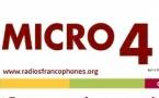 Micro 4 - Le magazine des Radios Francophones Publiques d'octobre en téléchargement