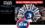 Mylène Farmer choisit RFM
