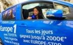 Europe Stop de retour pour les vacances