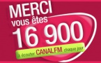 Canal FM : 526% d'augmentation d'audience !