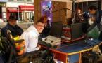 Radio Andalhone fait oublier le handicap