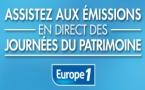 Journées du Patrimoine à Europe 1