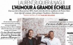 Ruquier et Nagui réunis dans Paris Match