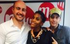 Une partie de l'équipe du Réveil Malin : Nicolas Petit, Audrey Chauveau et Laurent Argelier