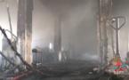 Incendie à Radio France : les images des Pompiers de Paris