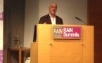 Jonathan Arendt de Jazz FM a présenté hier Audiomonitor au RAIN Summit