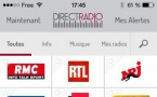 L'application Direct Radio est disponible