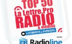 Top50 La Lettre Pro - Radioline de septembre 2014