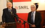 Pour la première fois, un président du CSA, Olivier Schramek, participait au congrès du SNRL.