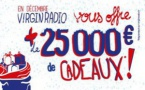 25 000 € de dotations sur Virgin Radio