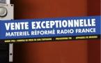 Radio France vend son matériel réformé