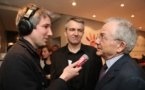 Le micro de France Inter au Salon de la Radio