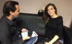 En pleine interview avec la très tonique Camille Lellouche, talent très remarqué des dernières auditions à l'aveugle.