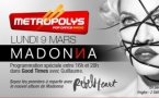 Madonna à l'honneur sur Metropolys