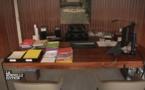 Voici le bureau de Mathieu Gallet