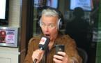 Franck Dubosc a ses habitudes dans les studios de la radio du rire.