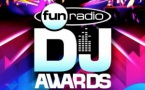 Les Fun Radio DJ Awards à Bruxelles
