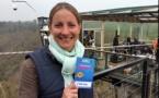 Tendance Ouest : une journaliste saute en direct d'un viaduc