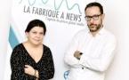 Caroline Cayol et Philippe Guespin ont fondé leur agence de presse il y a deux ans.