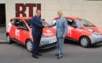 RTL roule en Bluecar 100% électrique