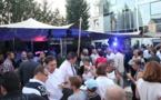 """Plus de 800 personnes pour une inauguration : Dôle était ce soir-là """"The place to be""""."""