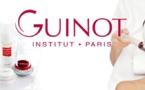 L'Institut Guinot Paris, communique aussi à Castres, avec un message différent qui respecte pour autant les codes de la marque.