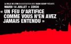 Le feu d'artifice de Lyon retransmis sur Radio Scoop