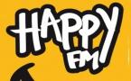 Nouvelle identité visuelle pour Happy FM