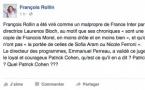 France Inter : fini de rire pour François Rollin