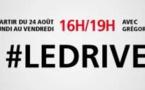 Grégory Ascher au Drive sur RTL2
