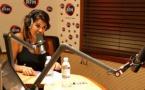 Première interview de Karine Ferri sur RFM