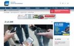 Le site de France Bleu en Responsive Design