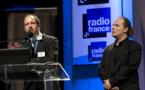 Nicolas Moulard et Xavier Filliol, les organisateurs des Rencontres Radio 2.0. © Ina