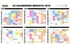 Le calendrier Mediatic 2016 est arrivé