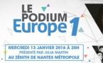 """Un concert """"Podium Europe 1"""" à Nantes"""