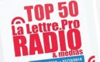 Top 50 La Lettre Pro - Radioline de décembre 2015