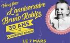 Bruno Roblès célèbre ses 30 ans de radio