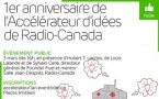 Radio-Canada : l'accélérateur d'idées a 1 an